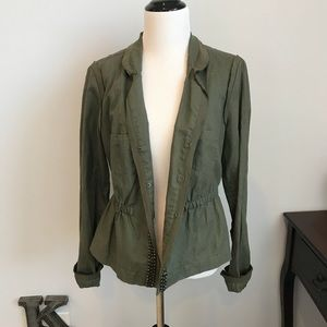 Steffen Schraut olive jacket size 40 NWT 🎉HP🎉